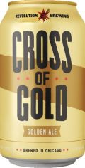 Revolution Cross of Gold - Golden Ale/Blond Ale