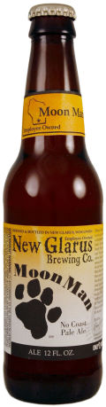 New Glarus Moon Man No Coast Pale Ale - American Pale Ale