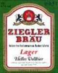 Ziegler Bru Lager Hell  - Pale Lager
