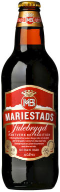 Mariestads Julebrygd - Amber Lager/Vienna