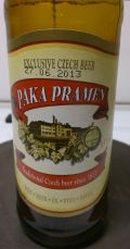 Paka Pramen 3.5-3.7% - Czech Pilsner/Sv&#283;tl