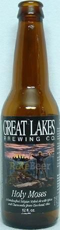 Great Lakes Holy Moses White Ale - Belgian White &#40;Witbier&#41;