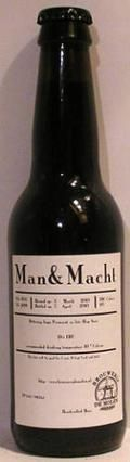 De Molen Man & Macht &#40;Man & Power&#41; - Stout