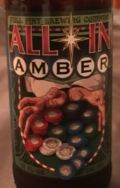 Full Pint All In Amber - Amber Ale