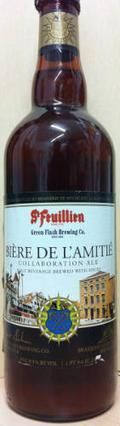 St Feuillien / Green Flash  Bire De LAmiti - Belgian Strong Ale