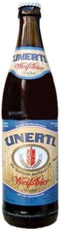 Unertl Weibier - German Hefeweizen