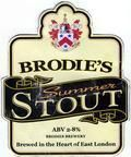 Brodies Summer Stout - Stout