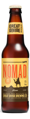 Great Divide Nomad Pilsner - Pilsener