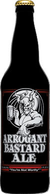 Arrogant Bastard Ale - American Strong Ale 