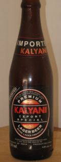 Kalyani Black Label Premium Lager - Pale Lager