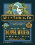 Marin Doppel Weizen Wheat Ale - German Hefeweizen