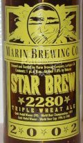 Marin Star Brew Triple Wheat Ale - Barley Wine