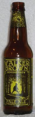 Walker Brown Pale Ale - American Pale Ale