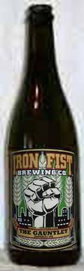 Iron Fist The Gauntlet Imperial IPA - Imperial/Double IPA