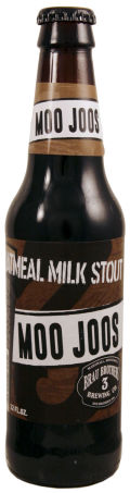 Brau Brothers Moo Joos Oatmeal Milk Stout - Sweet Stout