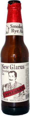 New Glarus Unplugged Smoked Rye Ale - Smoked