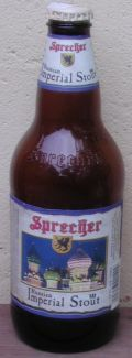 Sprecher Russian Imperial Stout - Imperial Stout