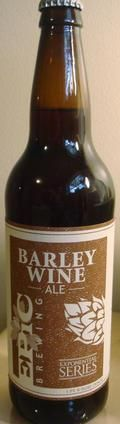 Epic Barley Wine  - Barley Wine