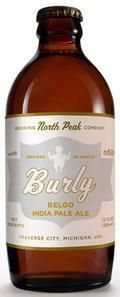 North Peak Burly Belgo IPA - India Pale Ale &#40;IPA&#41;
