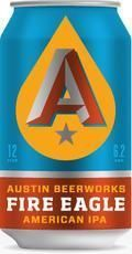 Austin Beerworks Fire Eagle IPA - India Pale Ale &#40;IPA&#41;