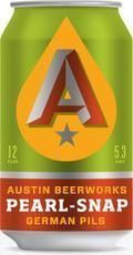 Austin Beerworks Pearl Snap Pils - Pilsener