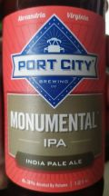 Port City Monumental IPA - India Pale Ale &#40;IPA&#41;