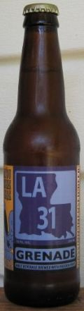 Bayou Teche LA 31 Grenade - Fruit Beer