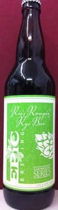 Epic Rios Rompin Rye Beer - Specialty Grain