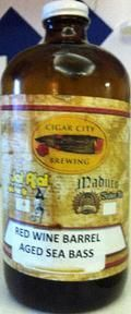Cigar City Sea Bass - Red Wine Barrel Aged - Sour Red/Brown