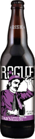 Rogue Dads Little Helper Black IPA - Black IPA