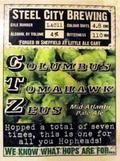 Steel City CTZ &#40;Columbus Tomahawk Zeus&#41; - Golden Ale/Blond Ale