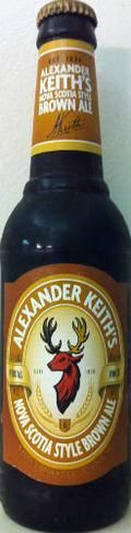 Alexander Keiths Nova Scotia Style Brown Ale - Brown Ale