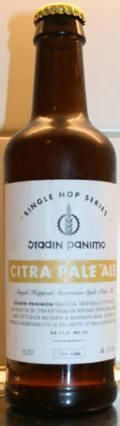Stadin Single Hopped Citra Pale Ale - American Pale Ale