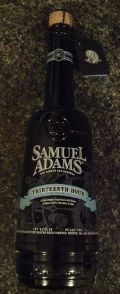 Samuel Adams &#40;Barrel Room Collection&#41; Thirteenth Hour Stout - Imperial Stout