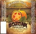 Starr Hill Boxcar Pumpkin Porter - Spice/Herb/Vegetable