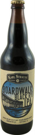 Karl Strauss Boardwalk Black Rye IPA - Black IPA