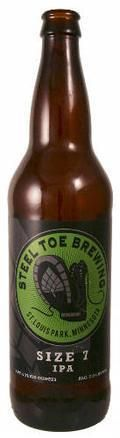 Steel Toe Size 7 IPA - India Pale Ale &#40;IPA&#41;