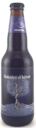 Dieu du Ciel Solstice dHiver - Barley Wine