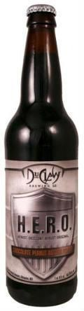 DuClaw 2011 H.E.R.O. Chocolate Peanut Butter Porter - Porter