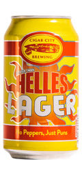 Cigar City Hotter Than Helles Lager - Dortmunder/Helles