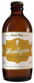 North Peak Hooligan Hoppy Pumpkin Ale - Spice/Herb/Vegetable