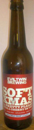 Evil Twin Soft Xmas aka Pretty Please With A Cherry On Top - Fruit Beer