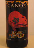 Canoe Beaver Brown Ale - Brown Ale