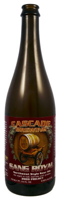 Cascade Sang Royal &#40;2009 Project&#41; - Sour Ale/Wild Ale