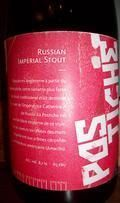 Lion  Plume Postiche Russian Imperial Stout - Imperial Stout