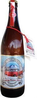 Grand Teton Coming Home Holiday Ale 2011 - Abbey Tripel