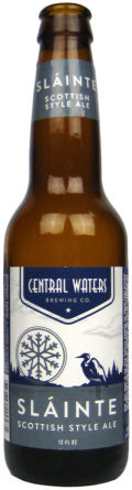 Central Waters Slinte Scottish Style Ale - Scottish Ale