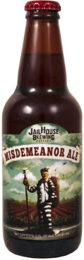 JailHouse Misdemeanor Ale - Amber Ale