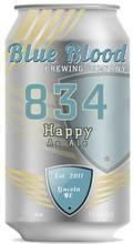 Blue Blood 834 Happy As Ale - American Pale Ale