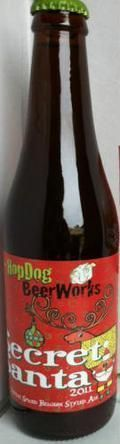 HopDog BeerWorks Secret Santa 2011 - Belgian Strong Ale